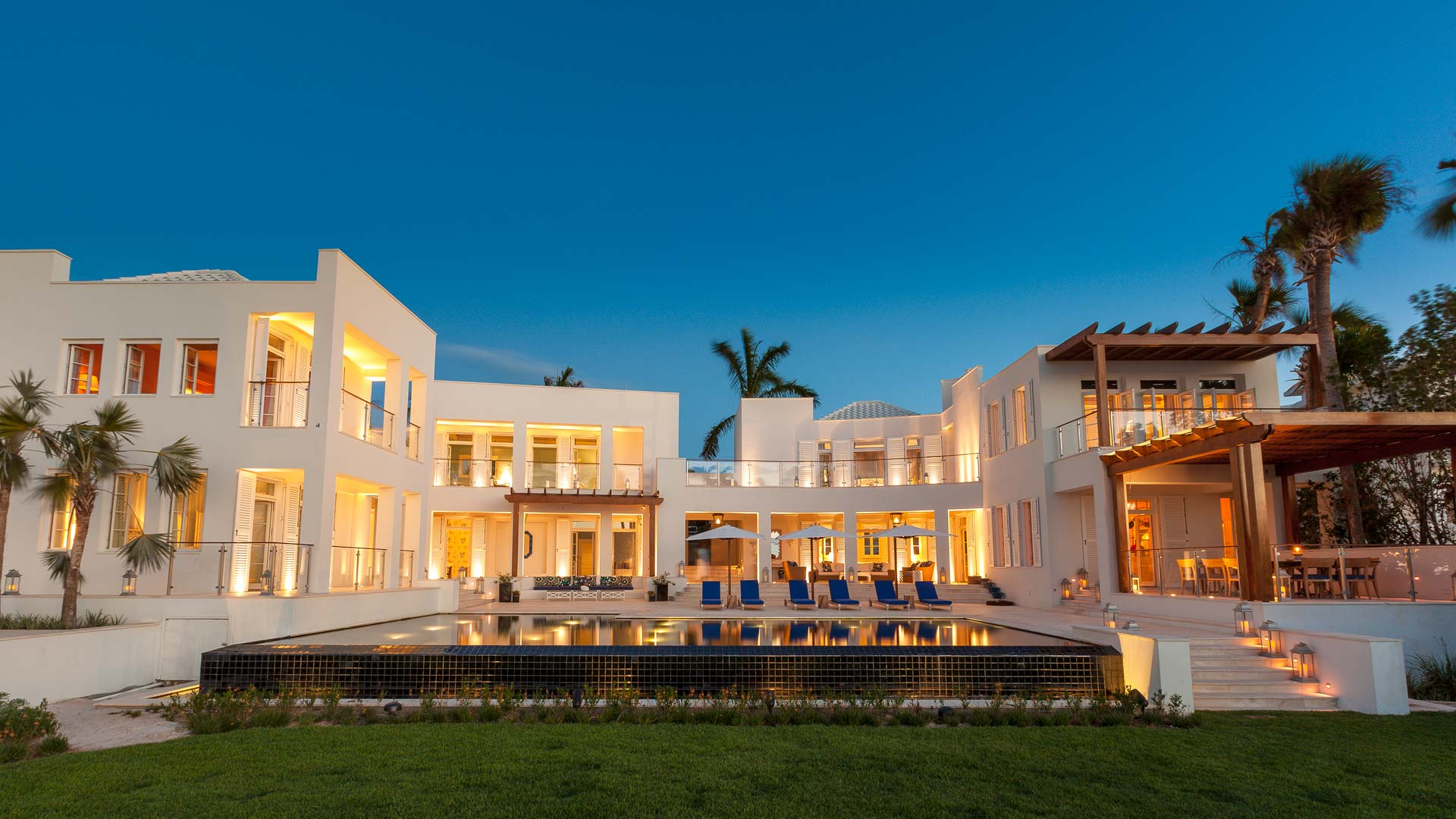 Cerulean is a world class luxury villa with a private chef and full staff.