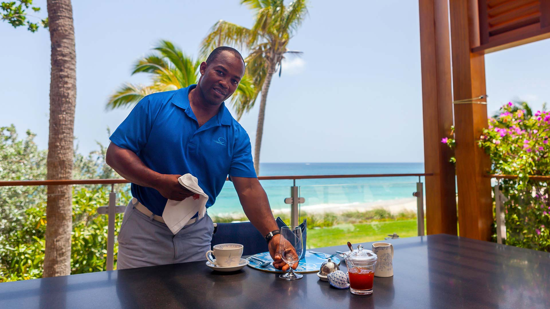 Cerulean Villa offers the highest level of private service on Anguilla.