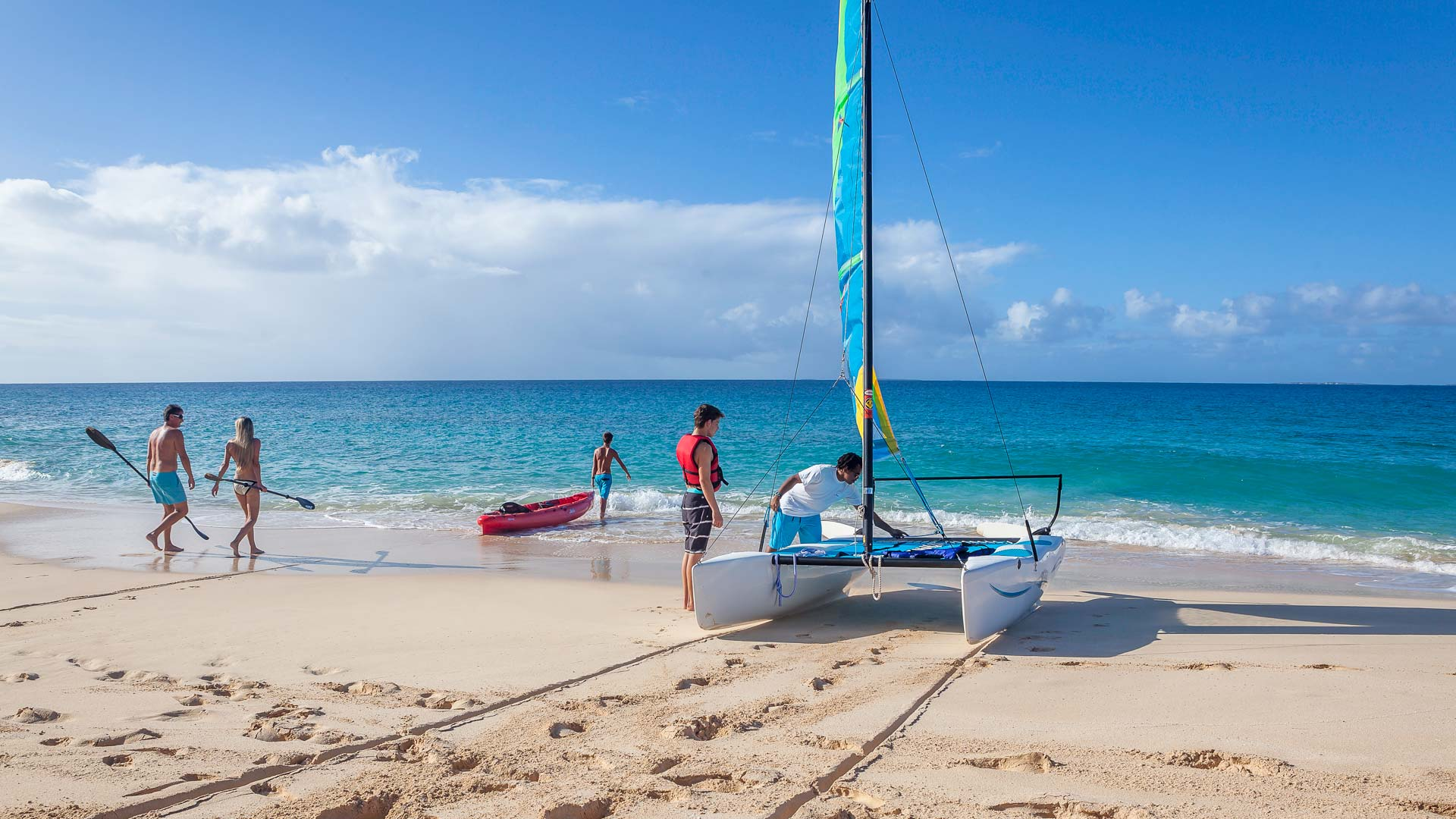 Cerulean Villa, Anguilla includes full water sports and gear for guests